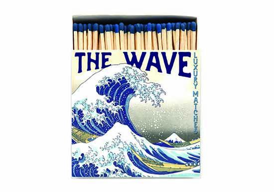 Grande boite d'allumettes - The wave