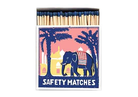 Grande boite d'allumettes - Pink Elephant