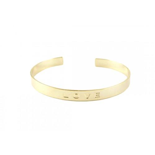 Bracelet manchette Love