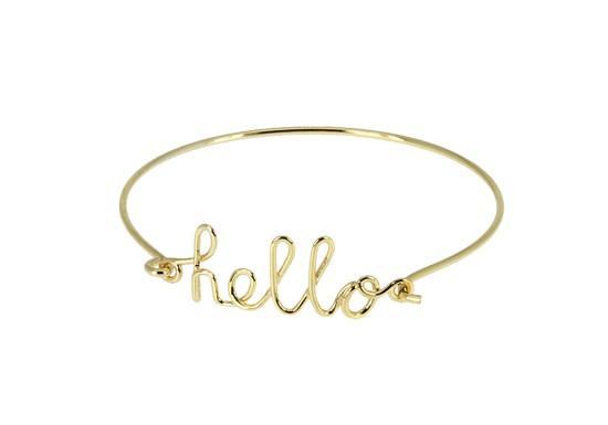 Bracelet Hello