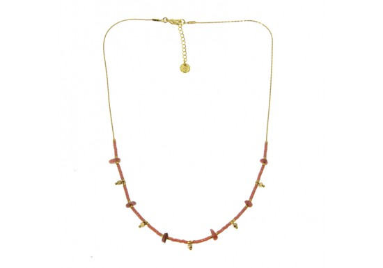 Collier Gaia rose