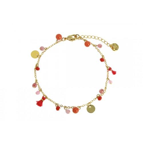 Bracelet Camille rose