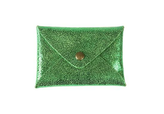 Pochette Cassandre - vert intense