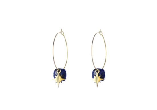 Créole Star - lapis lazuli