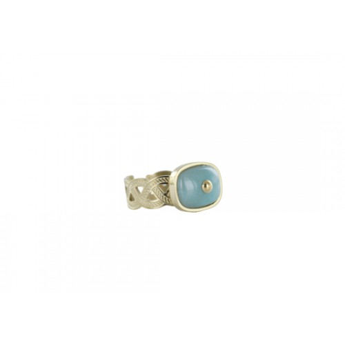 Bague Andrea - amazonite