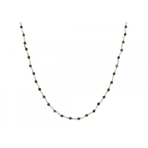 Collier Gabriela - malachite