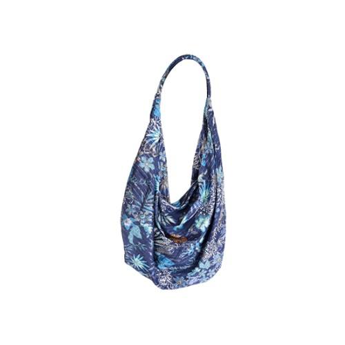 Sac bandoulière tissu - bleu marine