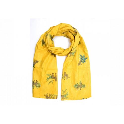 Etole coton Léo - jaune