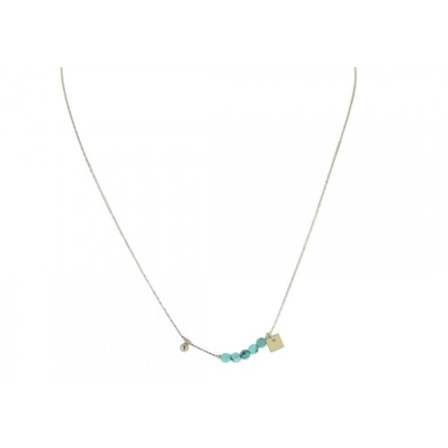 Collier Mayra - turquoise