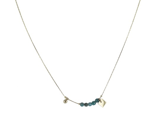 Collier Mayra - apatite