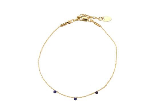 Bracelet stone bleu marine