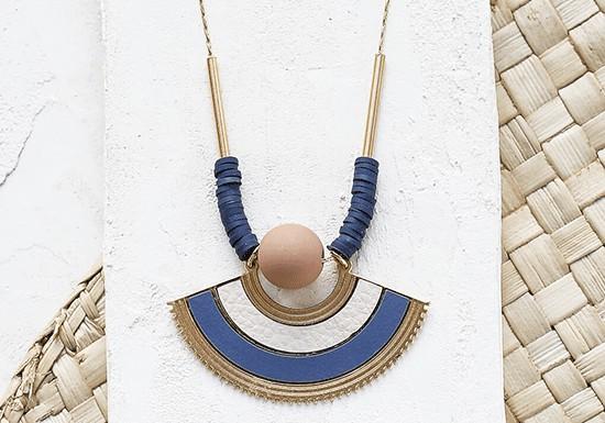 Collier Swahili (coloris au choix)