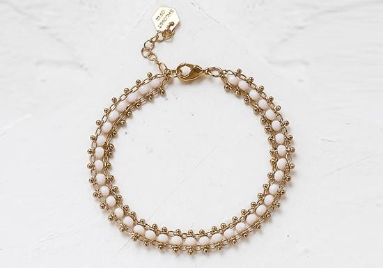 Bracelet Nia ( coloris au choix)