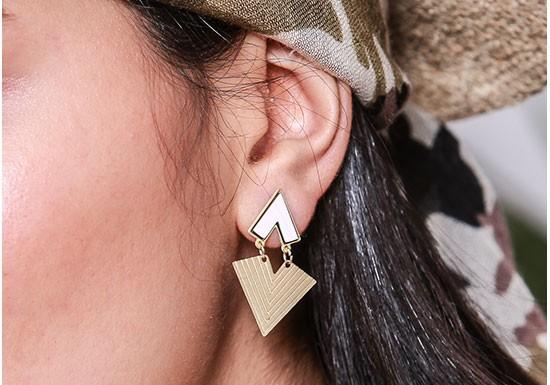 Boucles d'oreilles Luango ( coloris au choix)