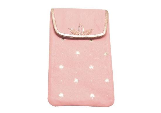 Pochette téléphone Palmtree - rose