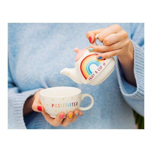 Service à thé rainbow