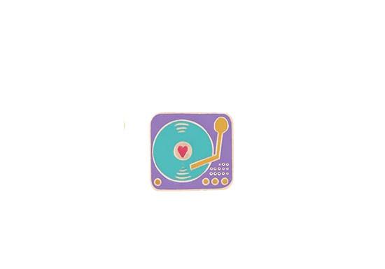 Pin's Vintage platine