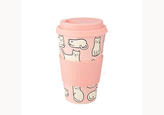 Mug bambou Cutie Cat