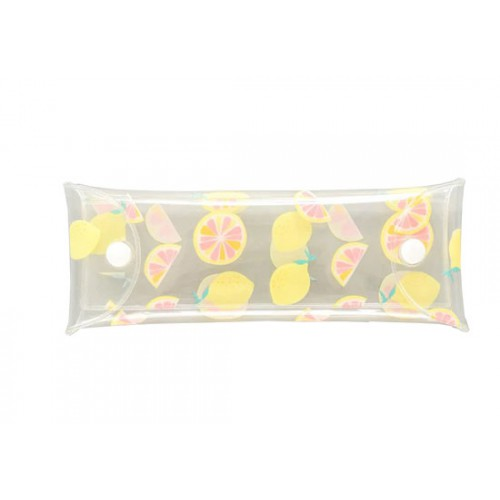 Trousse transparente mini - citrons