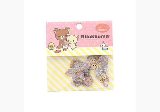 Set 80 mini stickers Rilakkuma