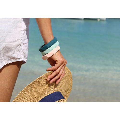 Bracelet d'eau - Bleu céladon