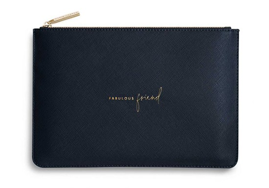 Pochette Fabulous friend marine