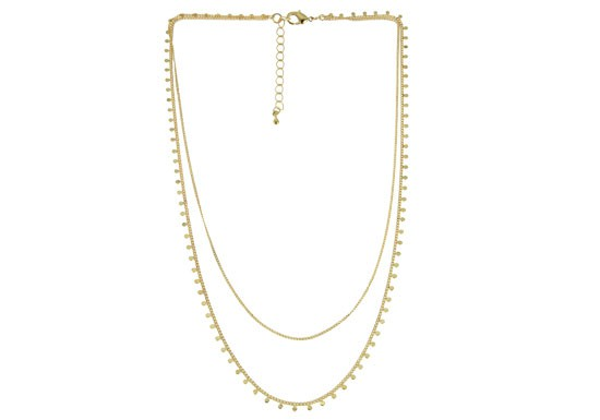 Collier Rachel - 2 rangs
