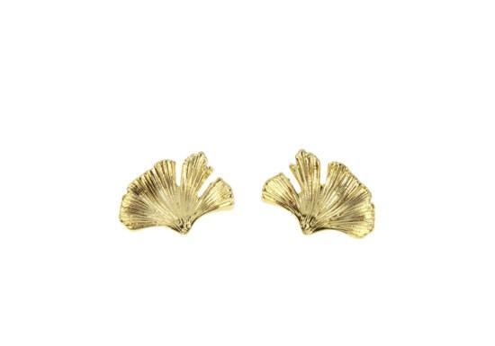 Boucles d'oreilles Ginkgo Léonie