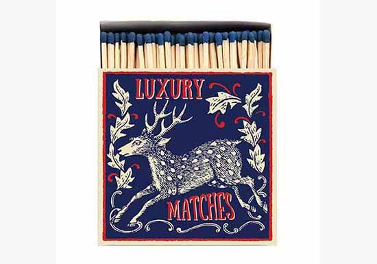 Grande boite d'allumettes - Deer