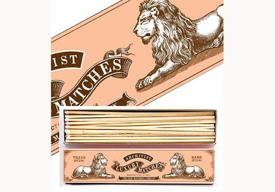 Allumettes longues - Lions