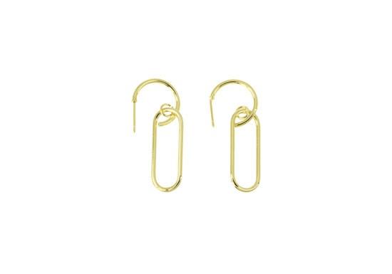 Boucles d'oreilles trombone Rosanna