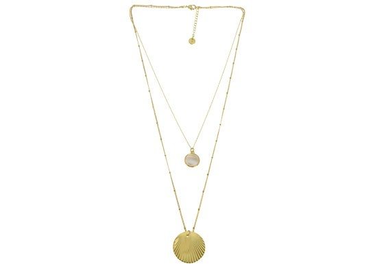 Collier Madeleine double