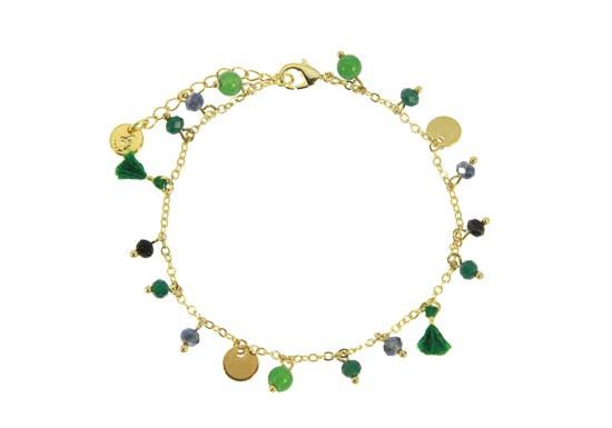 Bracelet Camille vert