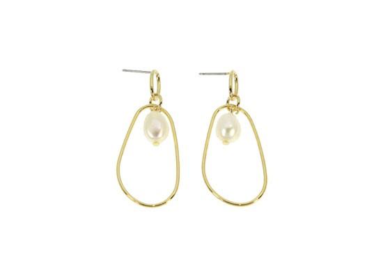 Boucles d'oreilles Colette perle
