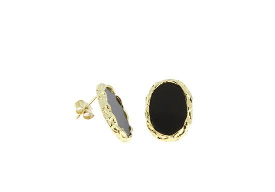 Boucles d'oreilles Colette - noir