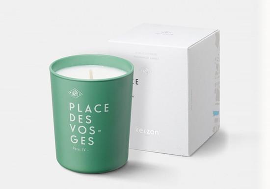Bougie parfumée - Place des Vosges