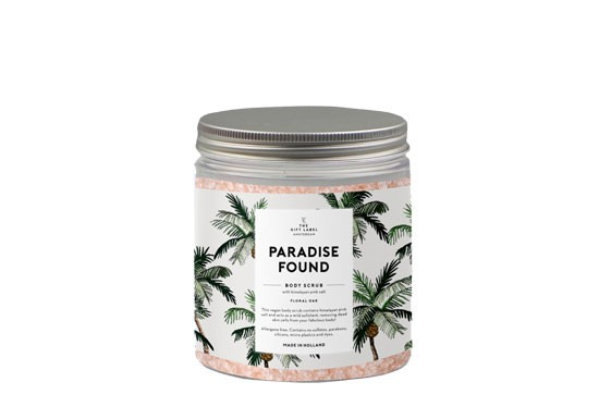 Body scrub - Paradise found