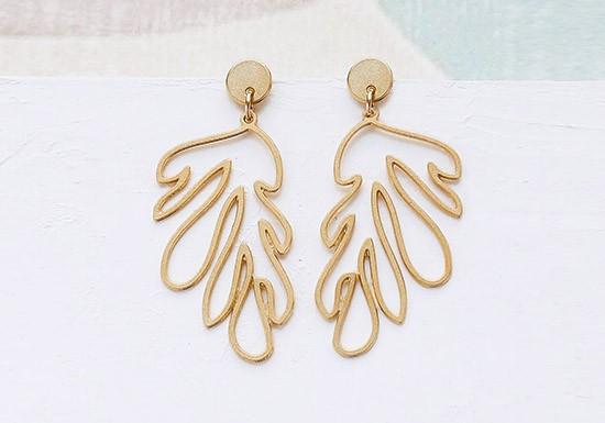 Boucles d'oreilles Matisse