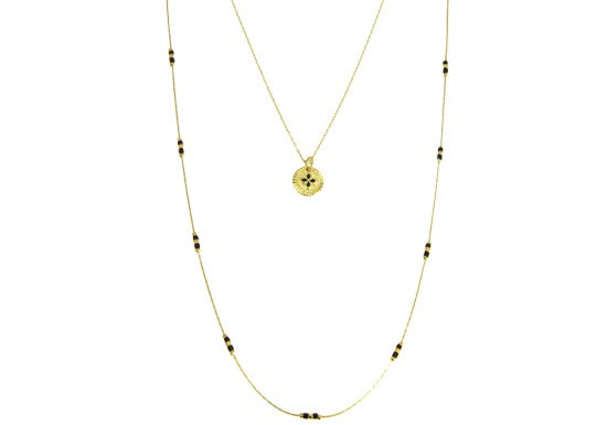 Collier Elisabeth double