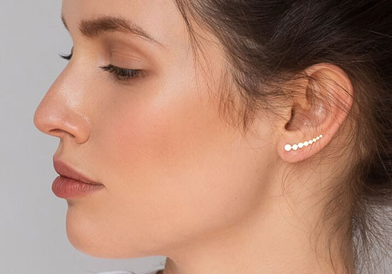 Boucles d'oreilles Tate Climber
