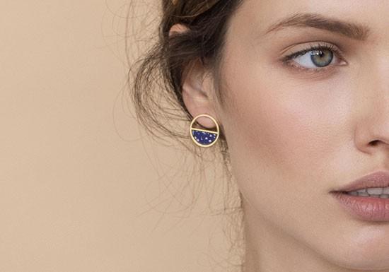 Boucles d'oreilles Concept (coloris au choix)