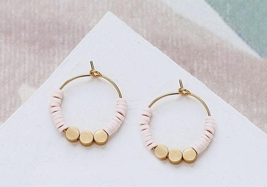 Boucles d'oreilles Seurat (coloris au choix)