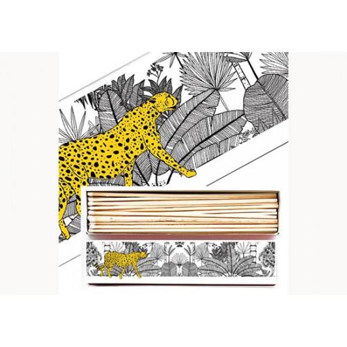 Allumettes longues - Cheetah Black