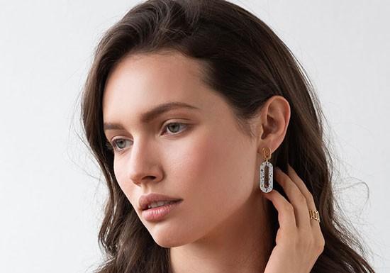 Boucles d'oreilles Pigment