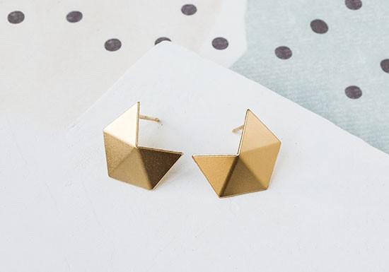 Boucles d'oreilles Cubism