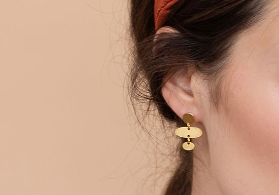 Boucles d'oreilles Harmony