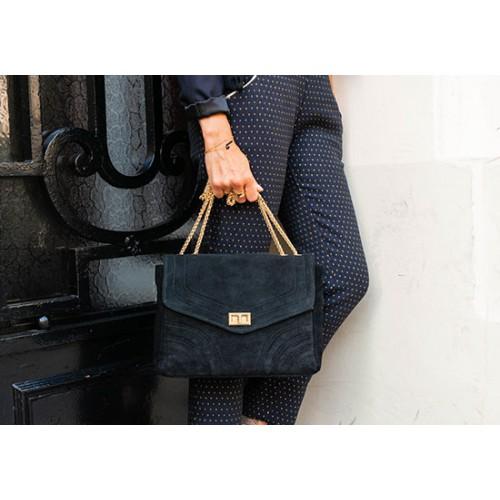 Grand sac elisabeth - noir