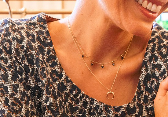 Collier Suzanne - onyx