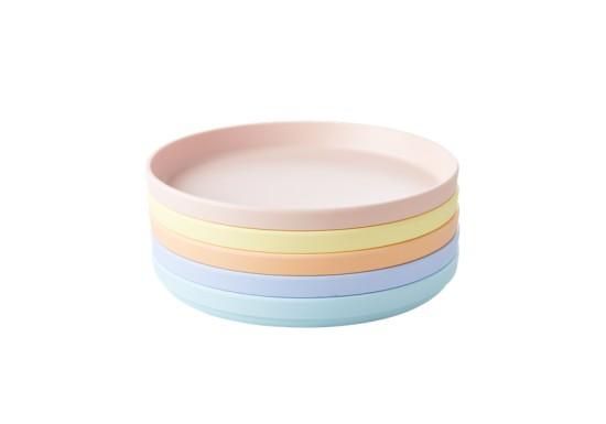 Assiette - Collection Natural fibre (coloris au choix)