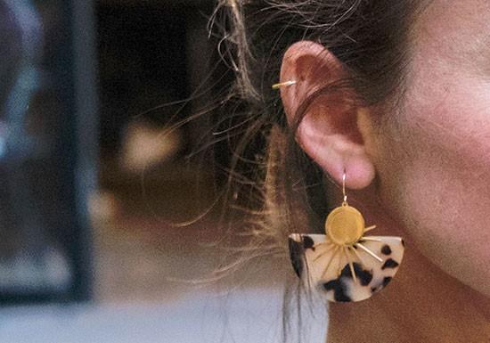 Boucles d'oreilles Anna